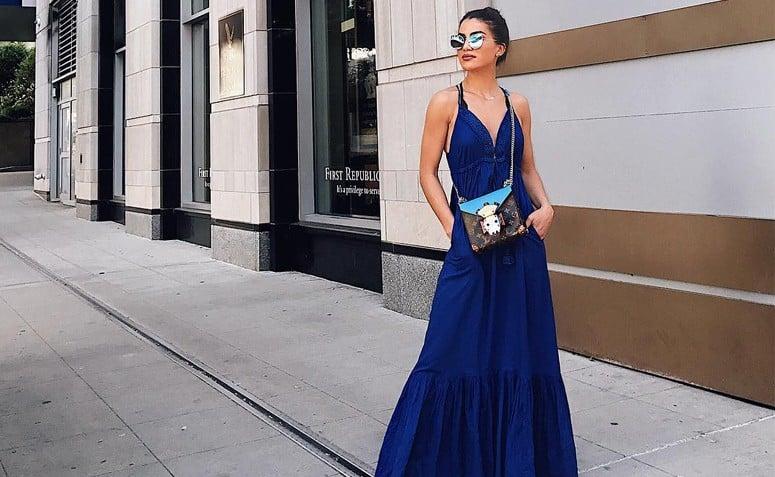 0c561475bb Vestidos longos simples  80 modelos para você usar em diversas ocasiões