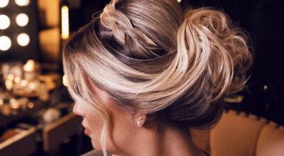 Coque com trança: 65 variações lindas desse penteado cheio de charme
