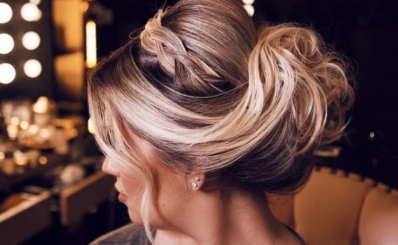 Tem Na Web - Coque com trança: 65 variações lindas desse penteado cheio de charme