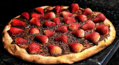 14 receitas de pizza doce para usar toda sua criatividade