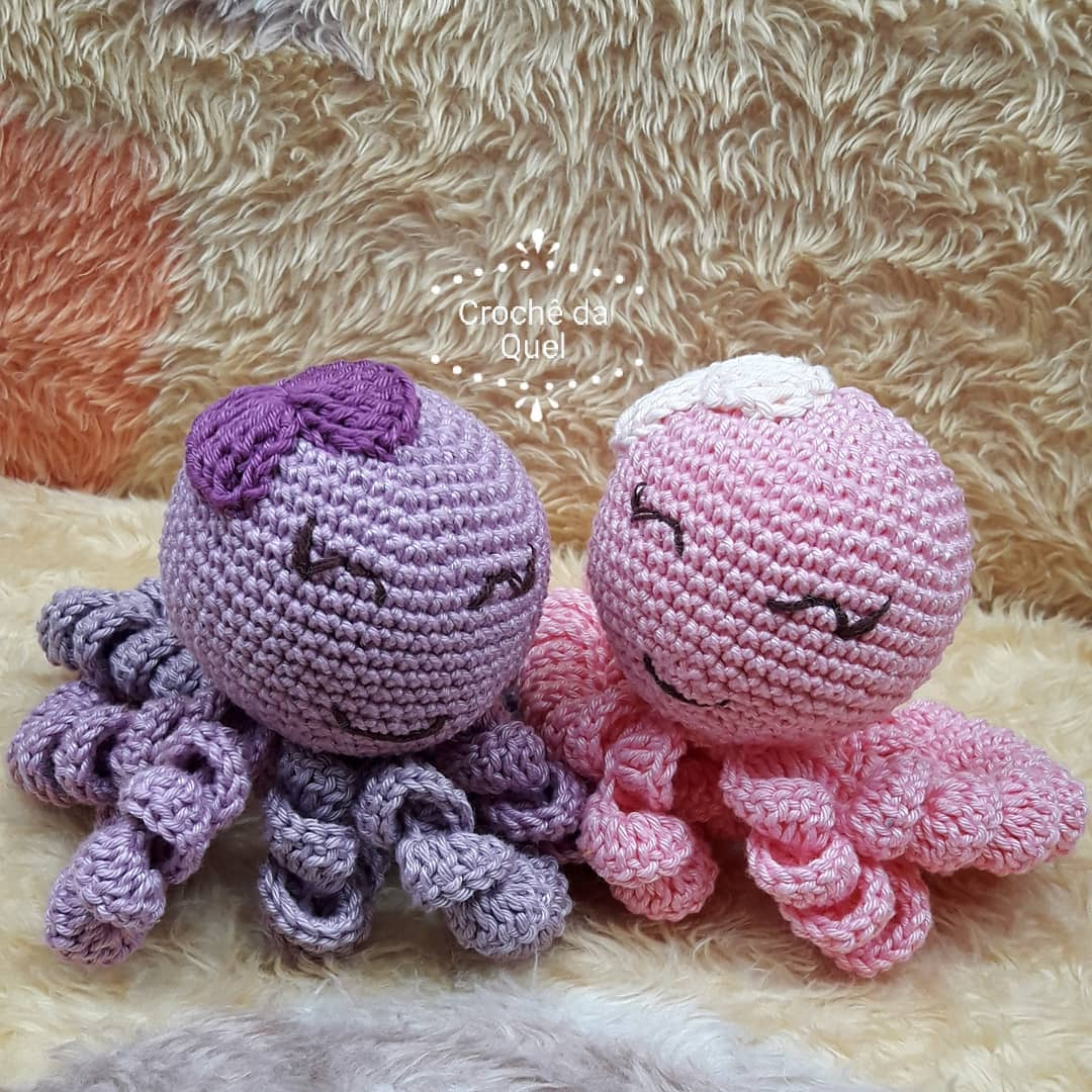Polvo de Crochê: +63 Modelos que Acalmam Bebês Prematuros | 1080x1080