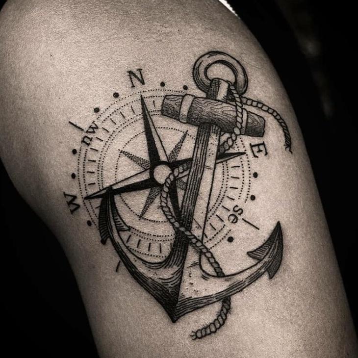 Tatuagem De âncora 90 Ideias Incríveis Para Representar Sua