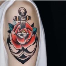 Tatuagem de âncora: 90 ideias incríveis para representar sua força