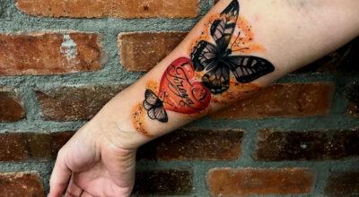 Tatuagem de borboleta: 200 ideias para ficar com vontade de tatuar