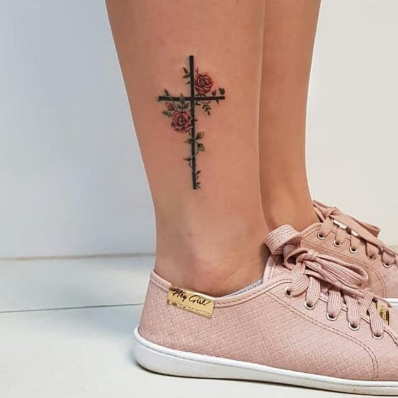 Tatuagem De Cruz 70 Inspirações Para Sua Próxima Tattoo