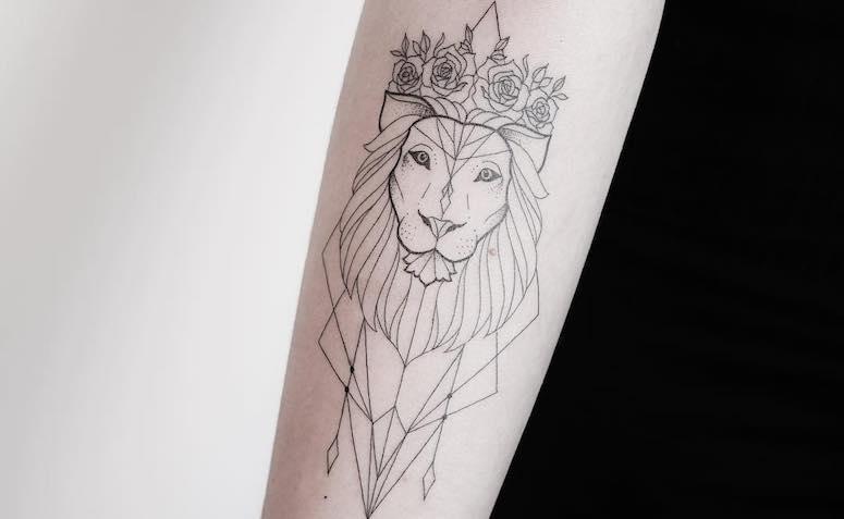 a471c8982 Tatuagem de leão  inspire-se em 80 artes representando o rei da selva