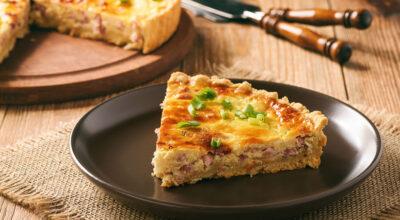 12 receitas de torta de presunto e queijo que são pura praticidade