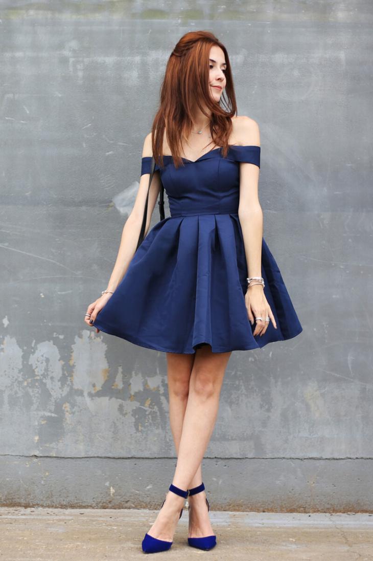 2b69032a0 Vestido azul marinho: 50 ideias para utilizar essa peça democrática