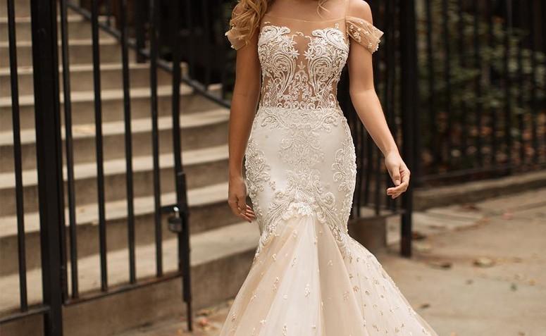 c79db2da1 Vestido de noiva sereia: 100 modelos deslumbrantes para o grande dia