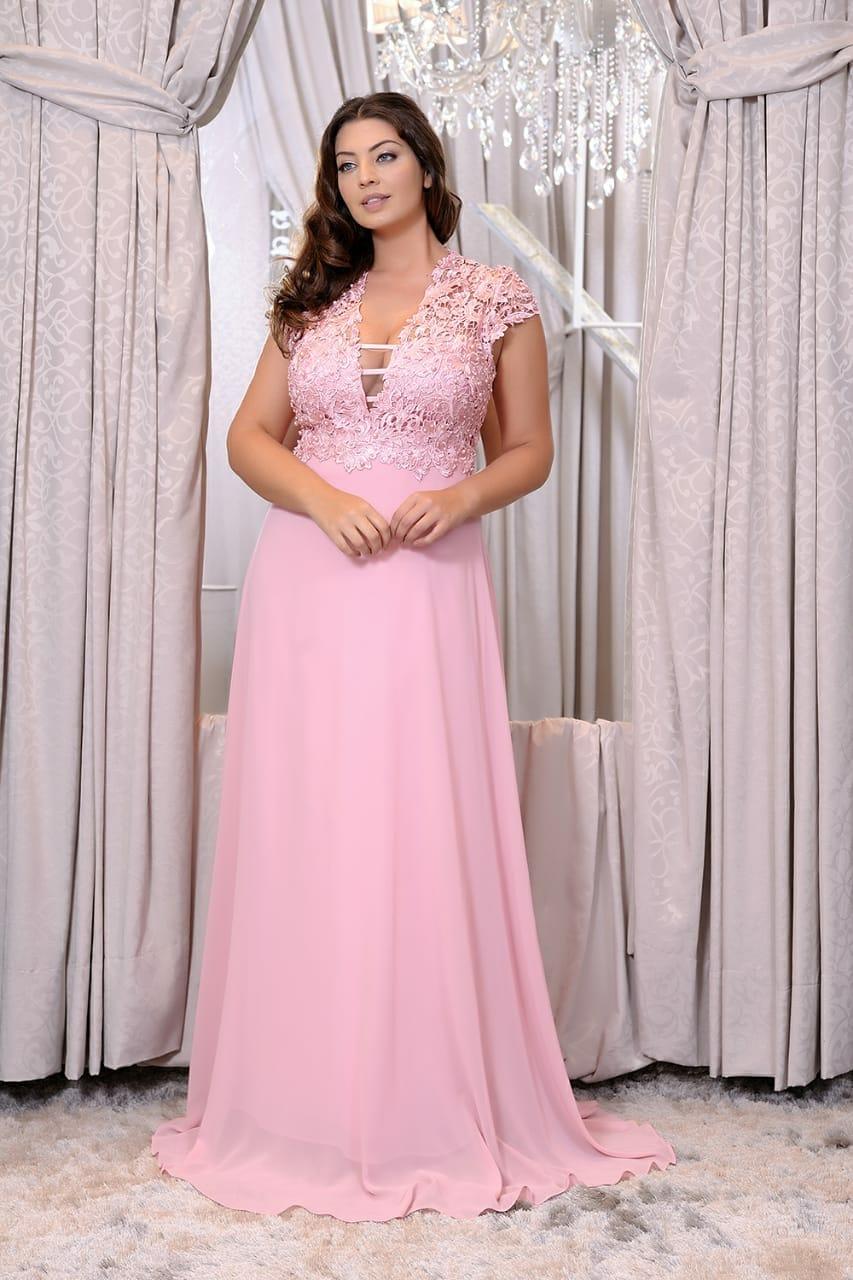 Engenheira Gabi Barros  Vestido longo plus size  85 modelos para ... 6e4d7ee7a545