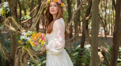Vestido para casamento de dia: 75 fotos para te ajudar nessa escolha
