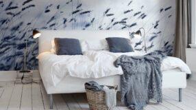 Papel de parede para quarto: 70 formas de deixar seu cantinho ainda mais bonito