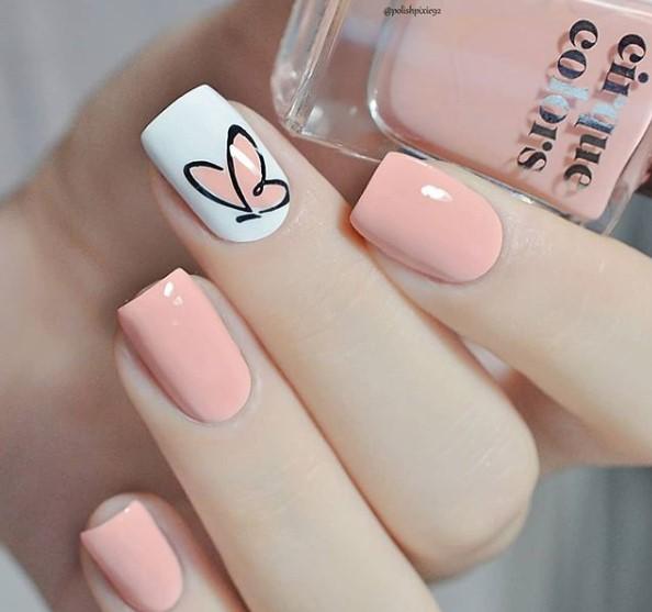 unhas-decoradas-borboleta-pastel
