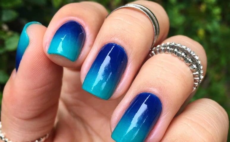 Tem Na Web - 60 ideias e tutoriais de unhas degradê para caprichar na nail art