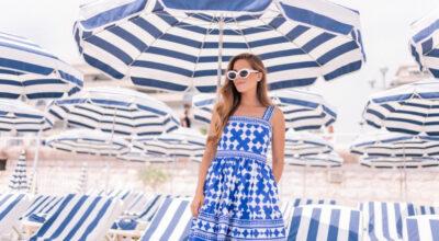Vestido azul: 100 ideias para usar essa cor democrática