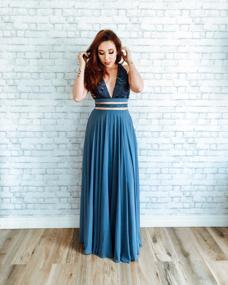 Vestido Azul 100 Ideias Para Usar Essa Cor Democrática