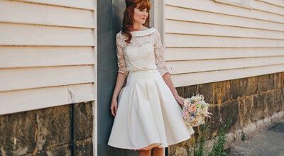 Vestido de noiva curto: 65 modelos charmosos para cerimônias modernas