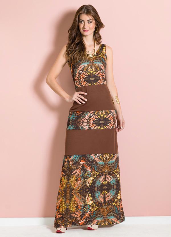 2b4ff9eae Vestido estampado: 100 ideias incríveis para todos os gostos