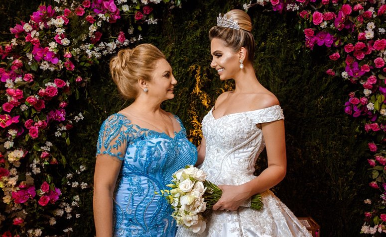 a2f420e4b5 Vestido para mãe da noiva  150 fotos para você escolher o modelo ideal
