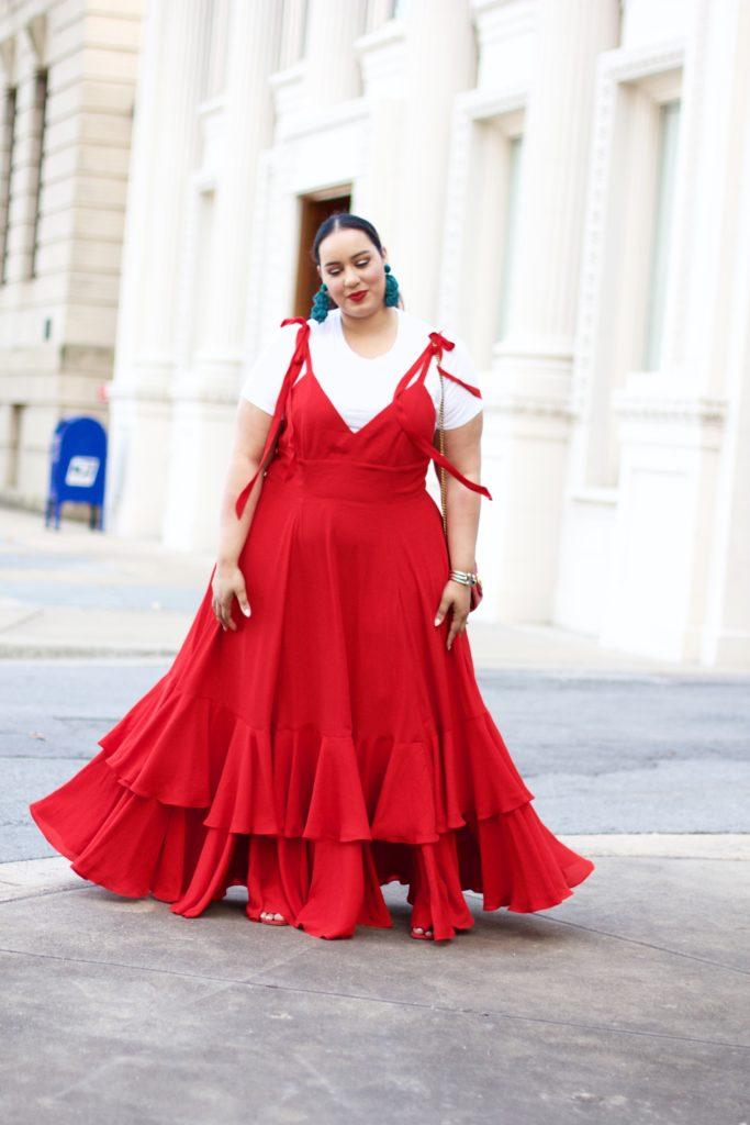 Vestido vermelho longo  50 modelos para arrasar e se destacar 701e9b17e4e
