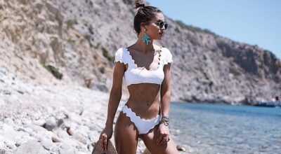 Biquíni branco: o queridinho para qualquer look estiloso no verão