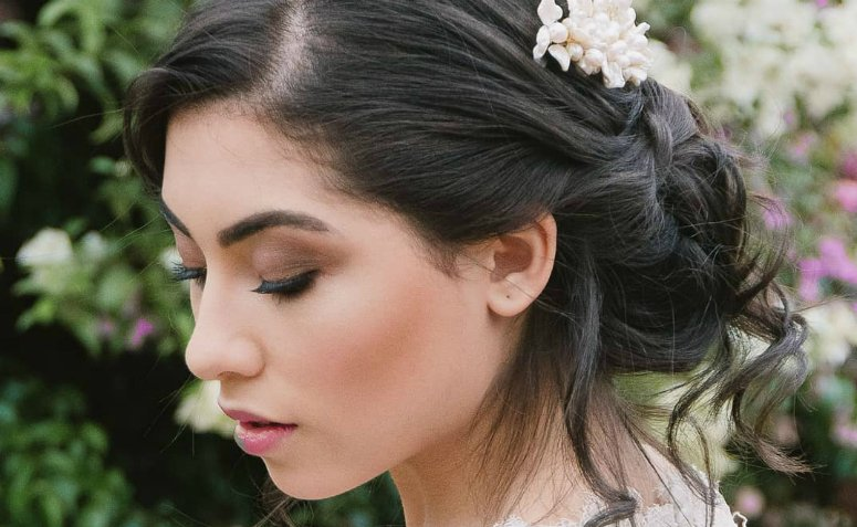 03f654ae7 110 ideias de maquiagem para casamento de dia para se apaixonar