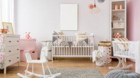 70 projetos de quarto de bebê feminino lindos e aconchegantes