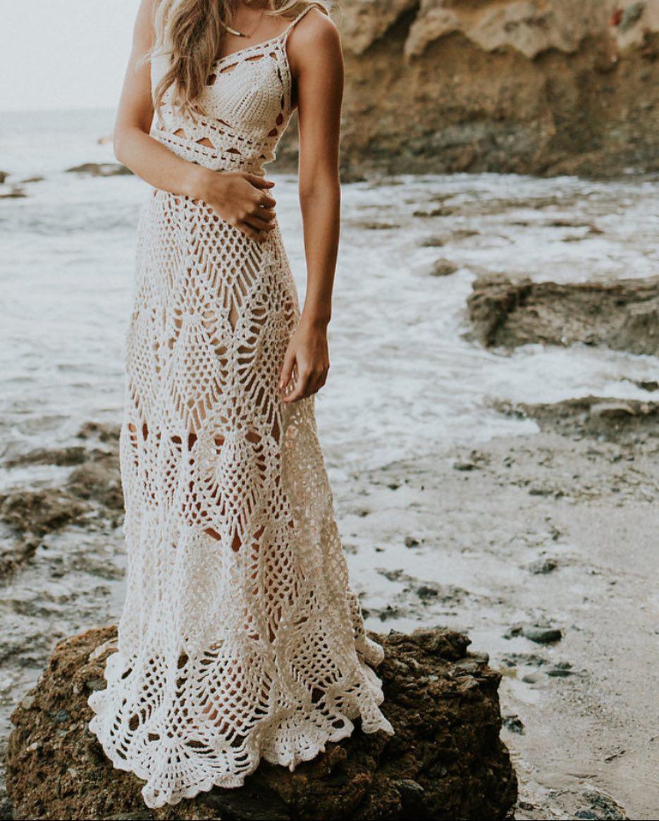 077e8facfc95 Saída de praia de crochê: 50 modelos delicados e versáteis