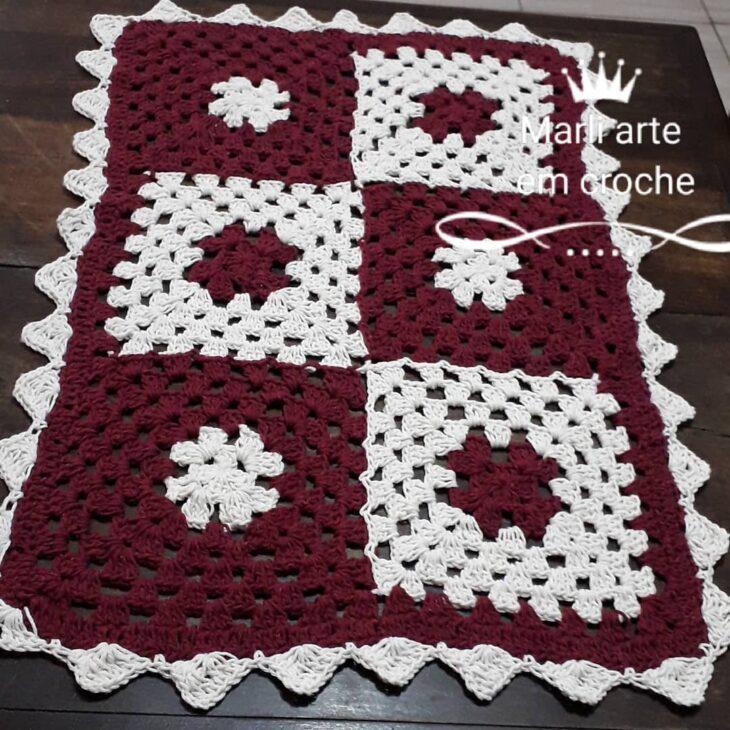 Tapete De Crochê Para Cozinha 100 Ideias Para Usar A Peça