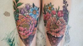 150 tatuagens na panturrilha para inspirar seus próximos rabiscos