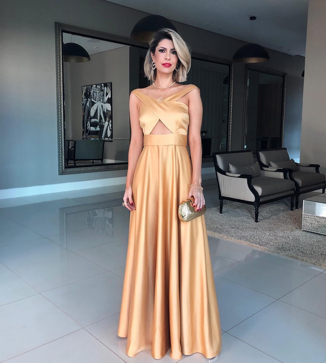 Vestido de festa 2019  115 modelos para arrasar em ocasiões especiais 41c40a6a37c4