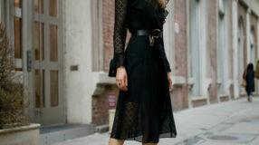 Vestido midi preto: 60 modelos maravilhosos para todas as ocasiões