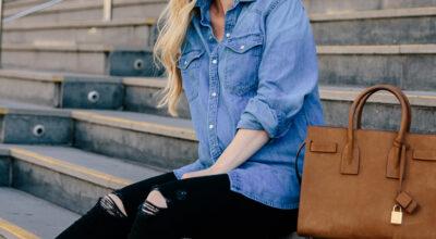 Camisa jeans: 55 looks que provam como essa peça é atemporal