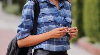 Camisa xadrez feminina: 70 combinações para você atualizar o visual