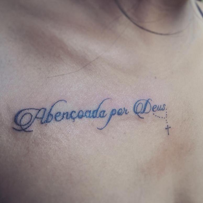 Tatuagem Blessed 50 Inspirações Para Uma Tattoo Abençoada