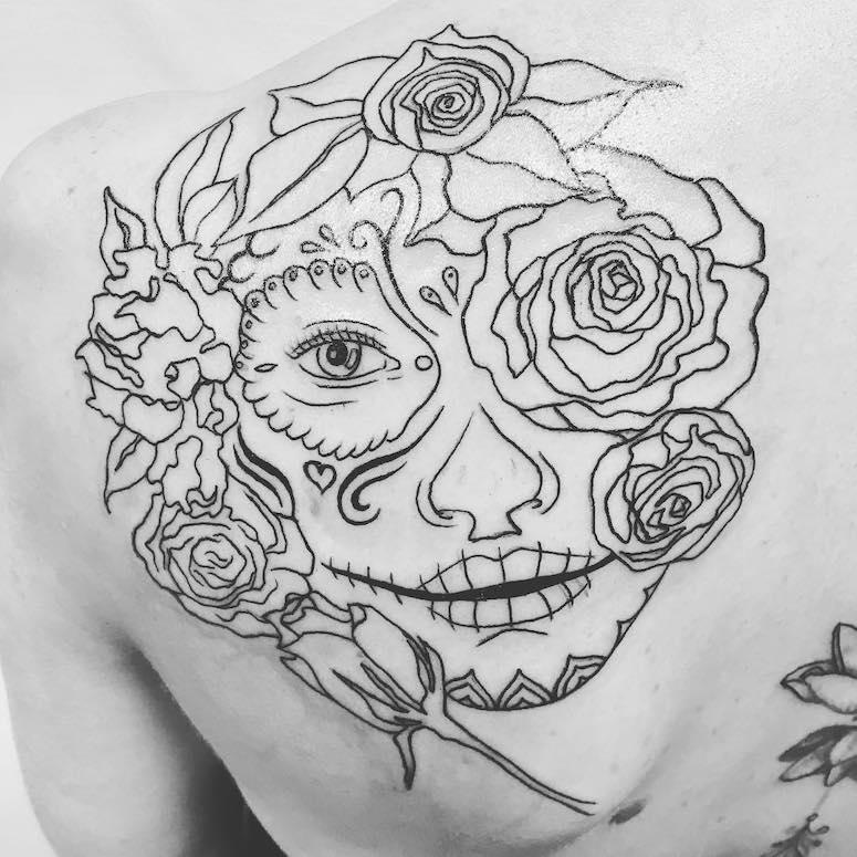 Tatuagem De Caveira Mexicana 70 Fotos Dessa Referencia Tradicional