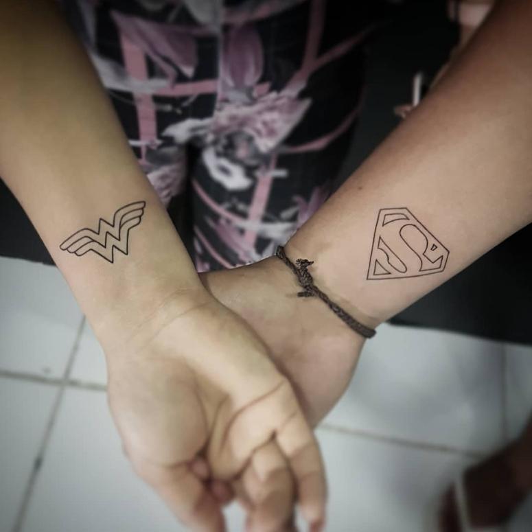 Tatuagem De Casal 80 Ideias Para Eternizar Seu Amor Com Estilo