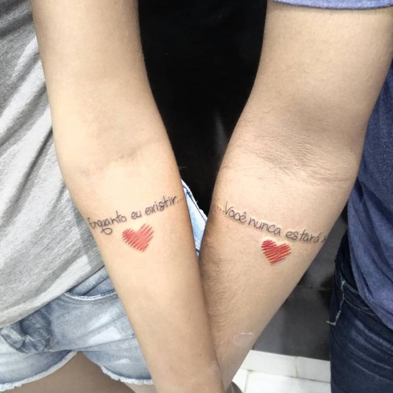 Tatuagem De Casal 80 Opções Lindas E Cheias De Amor