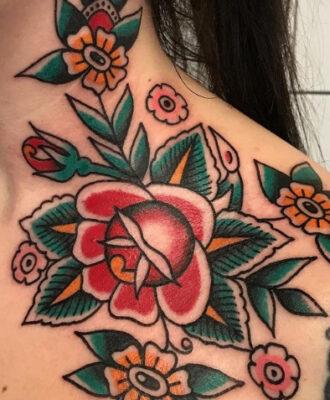 Tatuagem old school: 91 fotos para você se apaixonar pela técnica