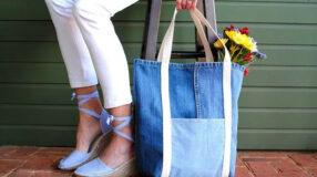 Bolsa de tecido: 65 inspirações para looks despojados
