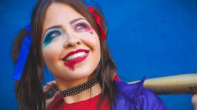 Maquiagem da Arlequina: 50 fotos e tutoriais dessa fantasia poderosa