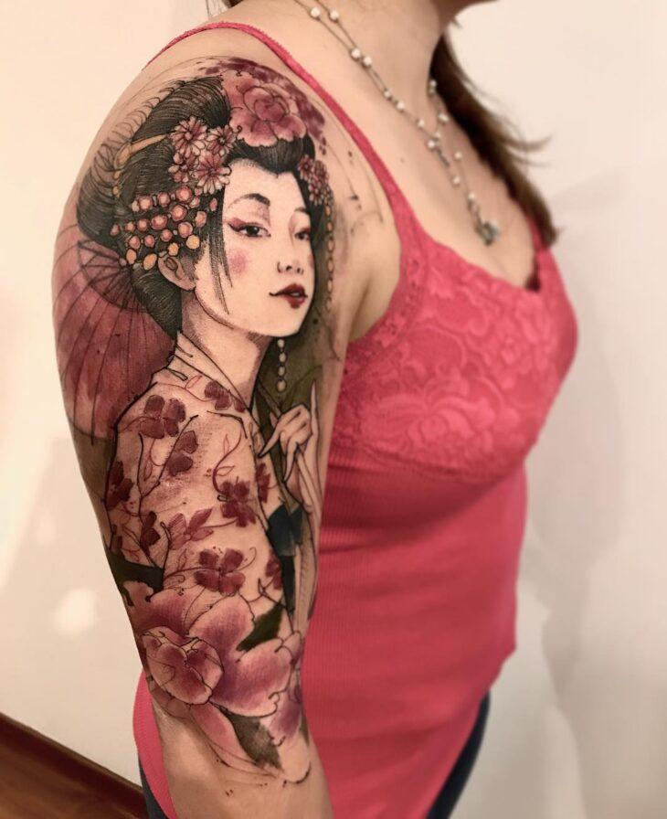 Suzana Almeida Tatuagem De Gueixa Significado E Ideias