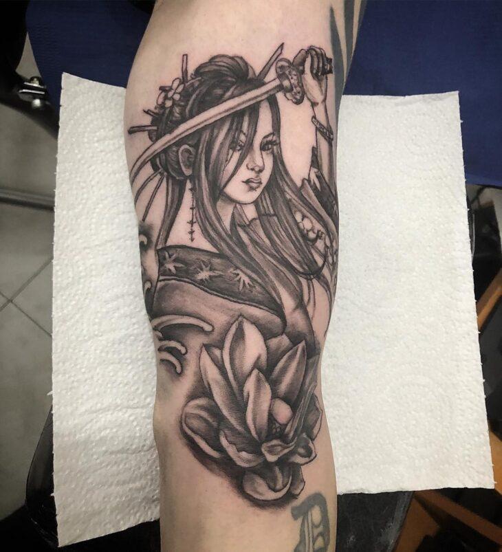 Tatuagem De Gueixa 70 Ideias Femininas E Cheias De Significado