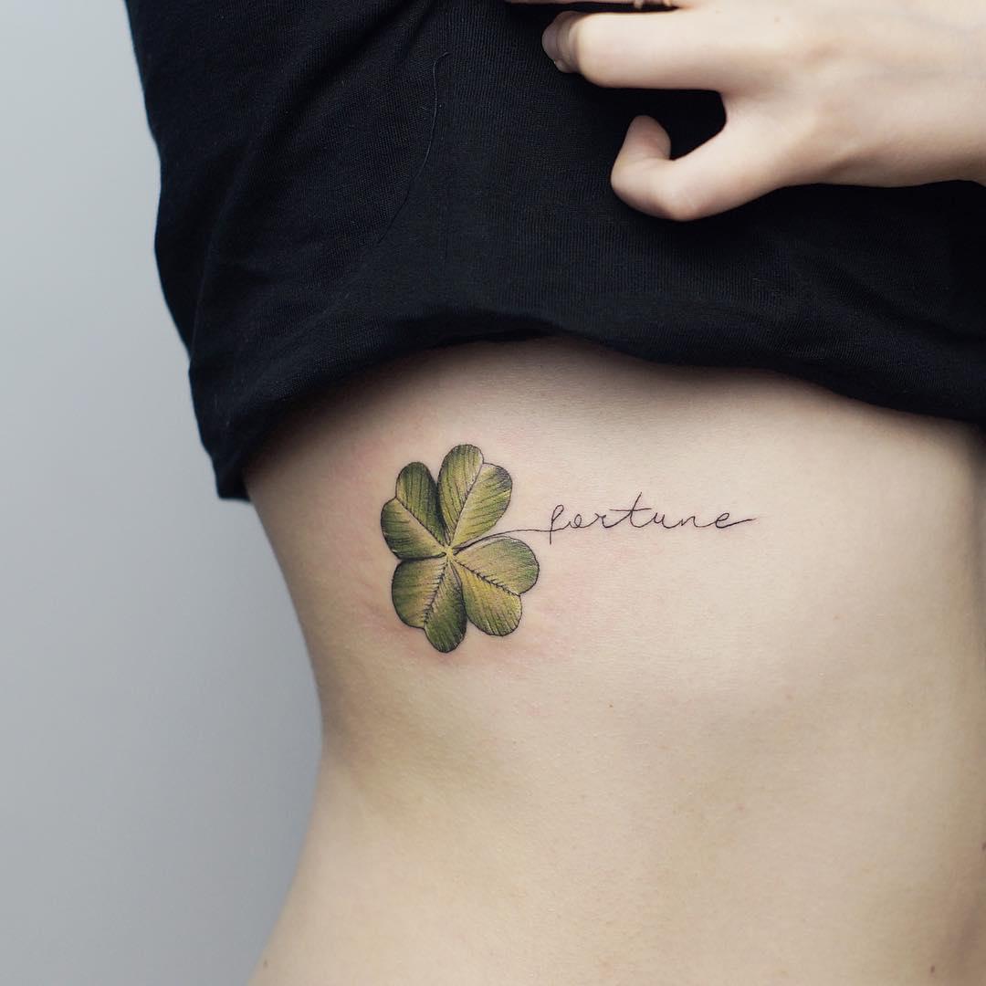 Tatuagem De Trevo Significado E 70 Ideias Para Inspirar A Sua