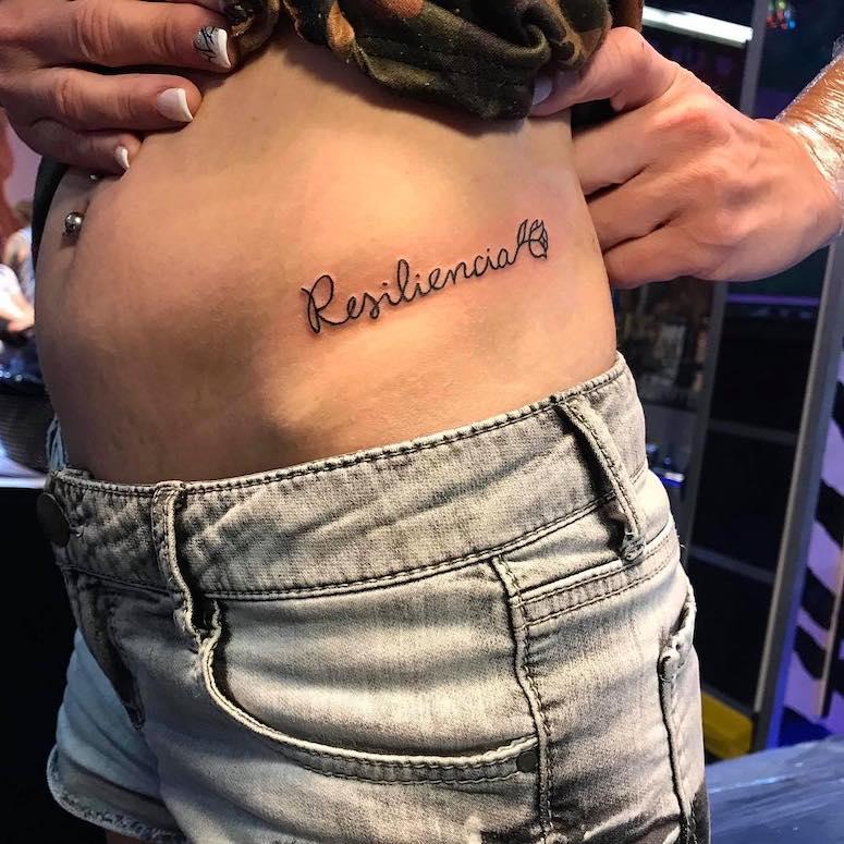Tatuagem De Resiliência 50 Fotos Veja Também O Significado