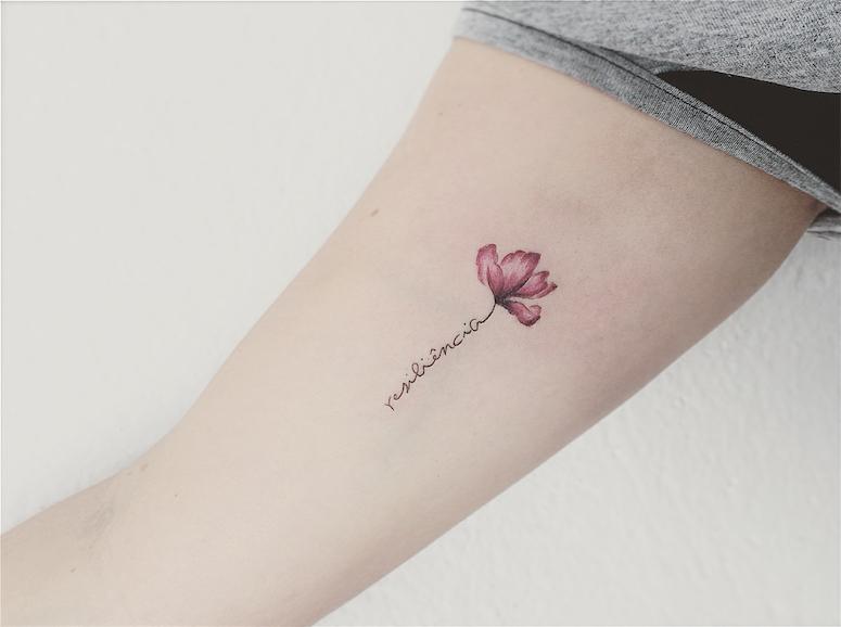 Blog Da Sofia Tatuagem De Resiliência 50 Ideias Delicadas