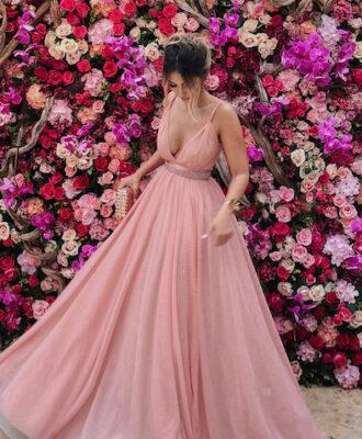 60 vestidos de madrinha rosa para você arrasar durante a cerimônia