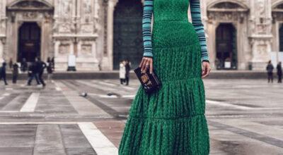 Vestido verde: 60 inspirações para você dar férias ao pretinho básico
