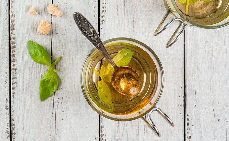 Té de albahaca tiene propiedades muy valiosas para la salud y el bienestar