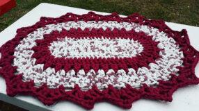 Tapete de crochê oval: ideias, tutoriais e gráficos dessa peça caprichada